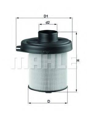 Воздушный фильтр KNECHT LX 291