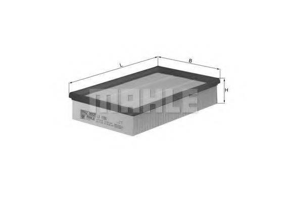 Воздушный фильтр KNECHT LX 1596