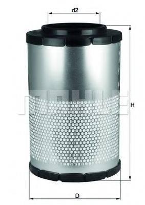 Воздушный фильтр KNECHT LX 1630