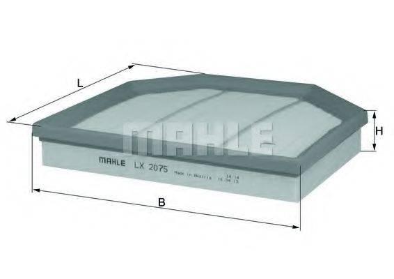 Воздушный фильтр KNECHT LX 2075