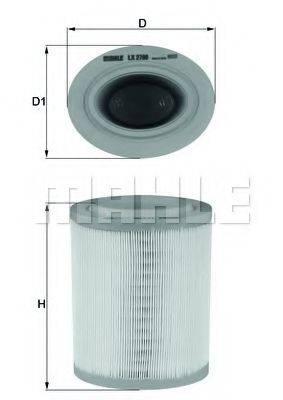 Воздушный фильтр KNECHT LX 2790