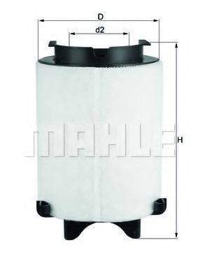 Воздушный фильтр KNECHT LX 1566/1