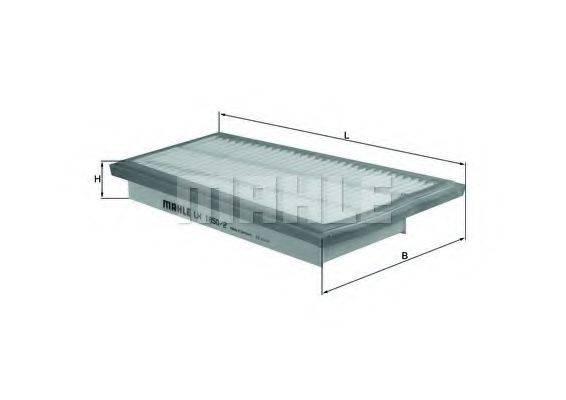 Воздушный фильтр KNECHT LX 1850/2