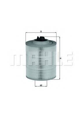 Воздушный фильтр KNECHT LX 2685