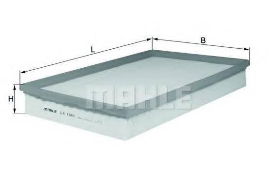Воздушный фильтр KNECHT LX 1500