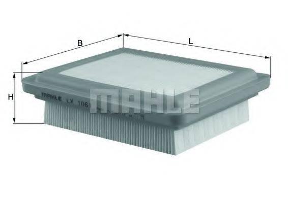 Воздушный фильтр KNECHT LX 1061