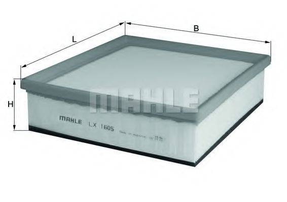 Воздушный фильтр KNECHT LX 1605