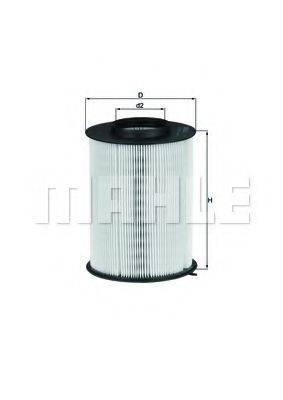 Воздушный фильтр KNECHT LX 1780/3