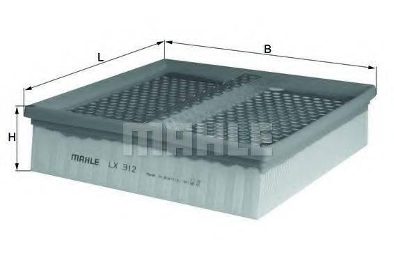 Воздушный фильтр KNECHT LX 312