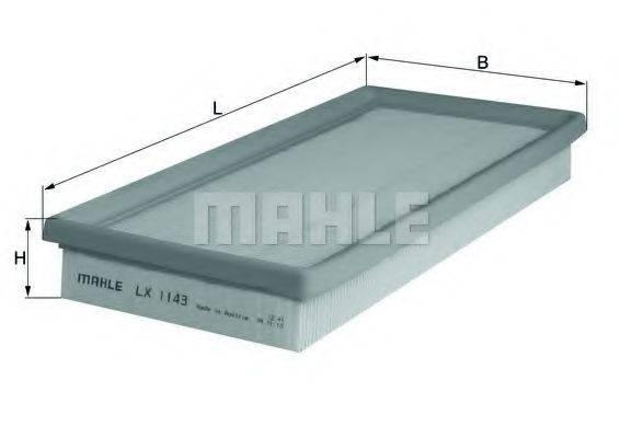 Воздушный фильтр KNECHT LX 1143