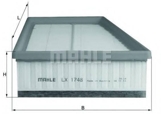 Воздушный фильтр KNECHT LX 1748