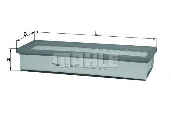 Воздушный фильтр KNECHT LX 2061/1