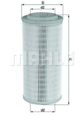 Воздушный фильтр KNECHT LX 1595