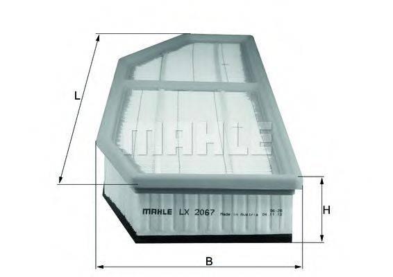 Воздушный фильтр KNECHT LX 2067