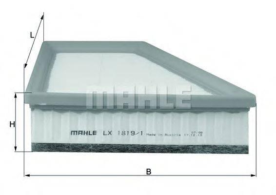 Воздушный фильтр KNECHT LX 1819/1