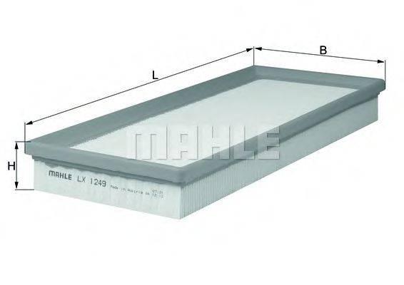 Воздушный фильтр KNECHT LX 1249