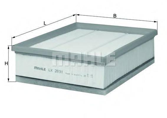 Воздушный фильтр KNECHT LX 2031