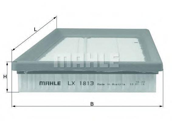 Воздушный фильтр KNECHT LX 1813