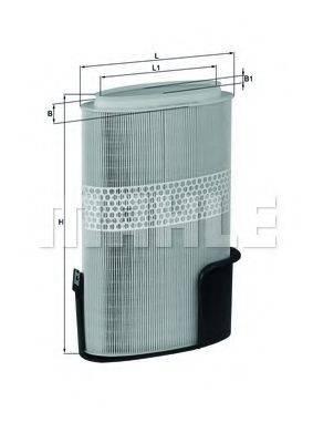 Воздушный фильтр KNECHT LX 1009/6