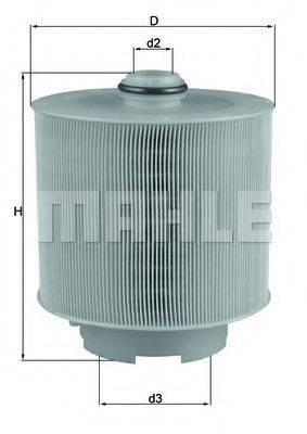 Воздушный фильтр KNECHT LX 1006/2D