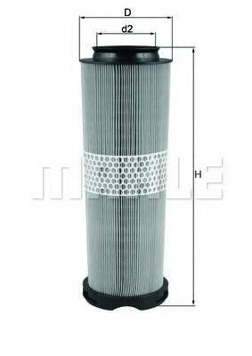 Воздушный фильтр KNECHT LX 1020