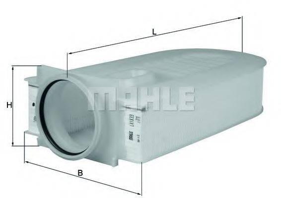Воздушный фильтр KNECHT LX 1833