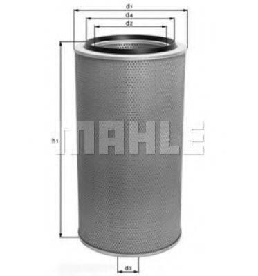 Воздушный фильтр KNECHT LX 273