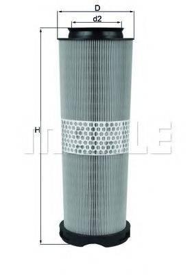 Воздушный фильтр KNECHT LX 1020/1