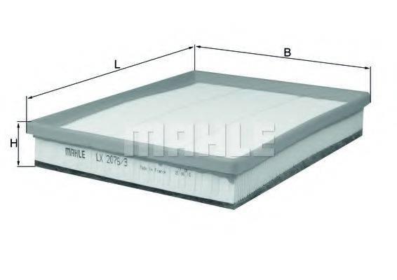 Воздушный фильтр KNECHT LX 2076/3
