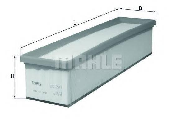 Воздушный фильтр KNECHT LX 3105/1