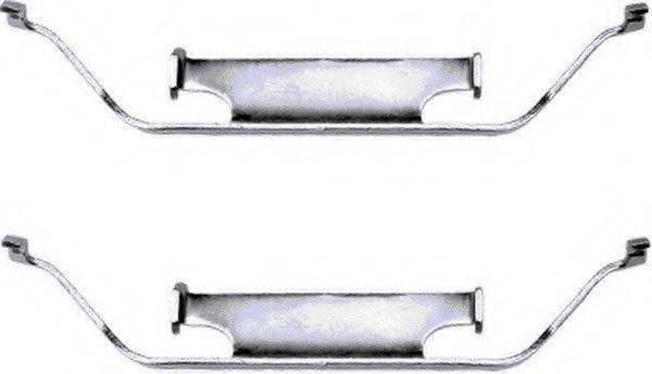 комплект принадлежностей, тормозной суппорт TEXTAR 82028600