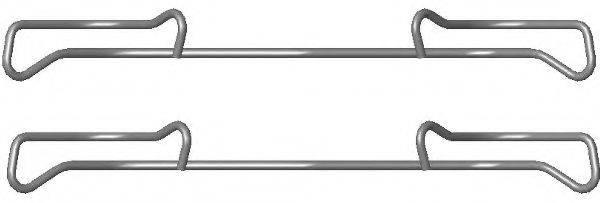комплект принадлежностей, тормозной суппорт TEXTAR 82076800
