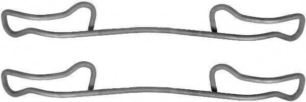 комплект принадлежностей, тормозной суппорт TEXTAR 82057400