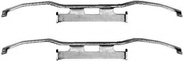 комплект принадлежностей, тормозной суппорт TEXTAR 82058400