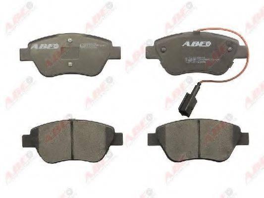Комплект тормозных колодок, дисковый тормоз ABE C1C060ABE