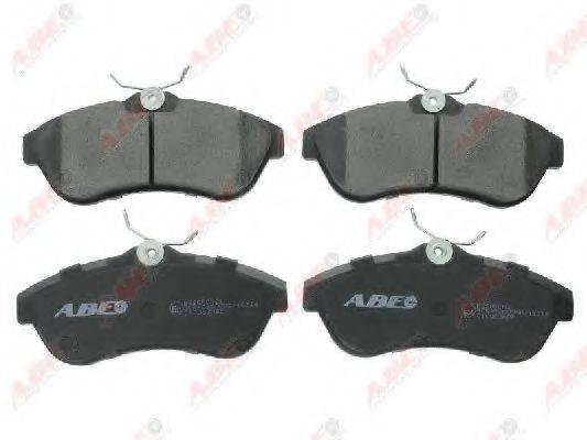 Комплект тормозных колодок, дисковый тормоз ABE C1C063ABE