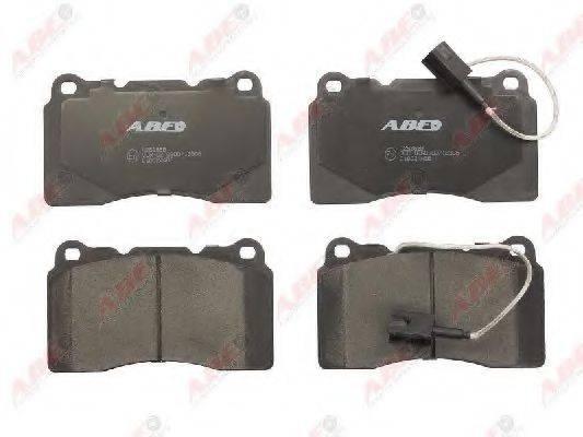 Комплект тормозных колодок, дисковый тормоз ABE C1D024ABE