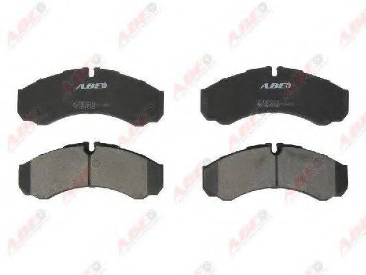 Комплект тормозных колодок, дисковый тормоз ABE C1E009ABE