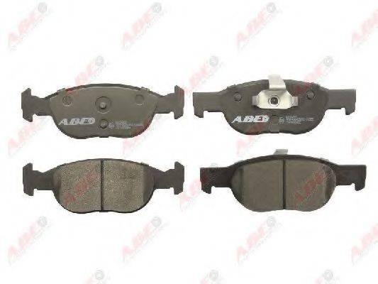 Комплект тормозных колодок, дисковый тормоз ABE C1F022ABE