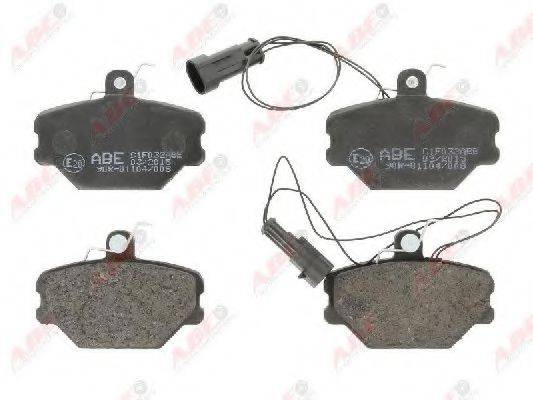Комплект тормозных колодок, дисковый тормоз ABE C1F032ABE