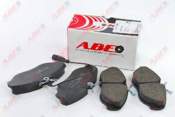 Комплект тормозных колодок, дисковый тормоз ABE C1F041ABE