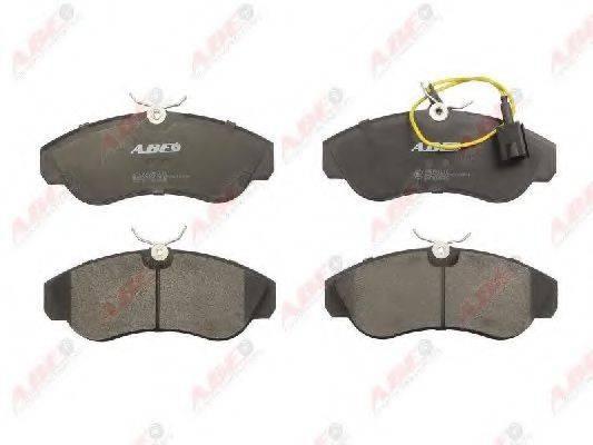 Комплект тормозных колодок, дисковый тормоз ABE C1F044ABE
