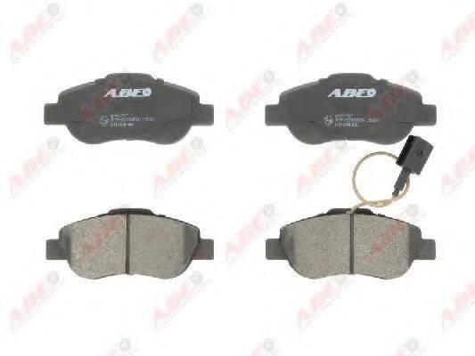Комплект тормозных колодок, дисковый тормоз ABE C1F048ABE