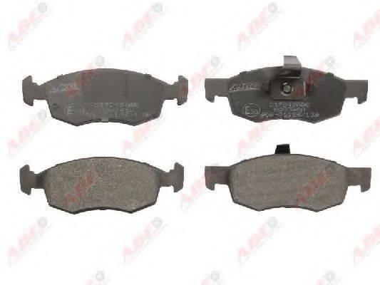 Комплект тормозных колодок, дисковый тормоз ABE C1F049ABE