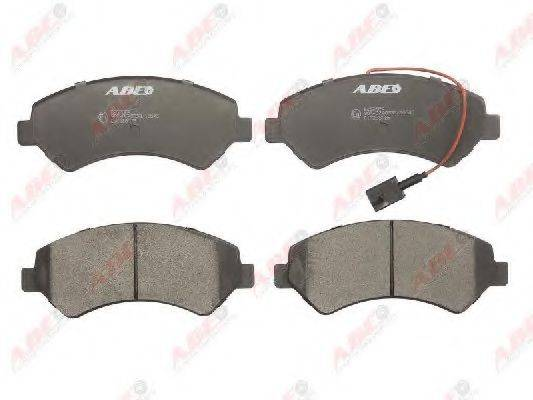 Комплект тормозных колодок, дисковый тормоз ABE C1F058ABE