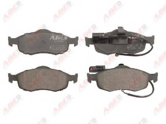 Комплект тормозных колодок, дисковый тормоз ABE C1G030ABE