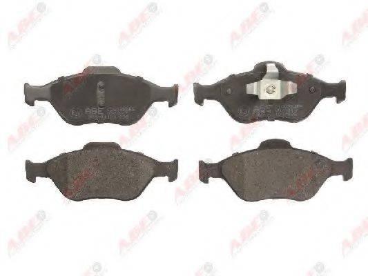Комплект тормозных колодок, дисковый тормоз ABE C1G038ABE