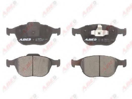Комплект тормозных колодок, дисковый тормоз ABE C1G054ABE