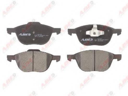 Комплект тормозных колодок, дисковый тормоз ABE C1G055ABE