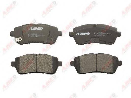 Комплект тормозных колодок, дисковый тормоз ABE C1G062ABE